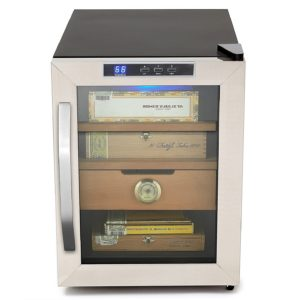 Whynter CHC-120S Stainless Steel 250-Cigar Cooler, 1.2 Cubic Feet Humidor