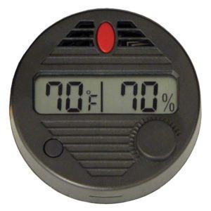 HygroSet II Round Digital Hygrometer for Humidors