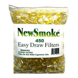 NEW SMOKE Disposable Cigarette Filters Bulk Economy Pack 300 plus 150 FREE BONUS FILTERS
