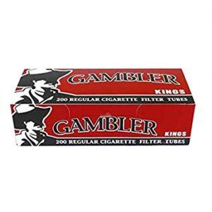 Gambler Regular King Size Cigarette Tubes