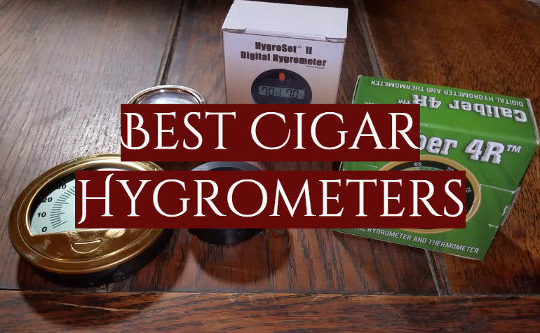 5 Best Cigar Hygrometers