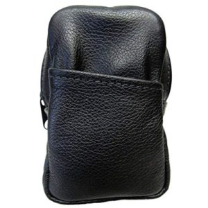 Womens Soft Leather Cigarette Case Holds