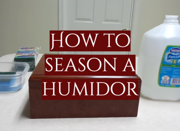 How to Season a Humidor
